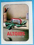Vintage Ad: 2004 Altoids Chewing Gum