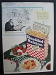 Vintage Ad: 1946 Shredded Ralston Cereal