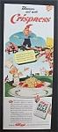 1942 Kellogg Rice Krispies W/little Snap, Crackle & Pop