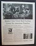 1946 Quaker Oats Cereal