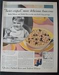 1931 Quaker Puffed Rice & Puffed Wheat