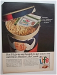 1966 Quaker Life Cereal