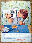 Vintage Ad: 1954 Kellogg's Corn Flakes With N. Rockwell
