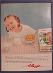 1954 Kellogg's Corn Flakes Cereal
