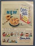 1953 Post's Corn - Fetti Cereal