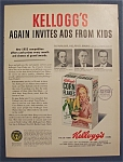 1953 Kellogg's Corn Flakes Cereal