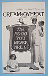 Vintage Ad: 1907 Cream Of Wheat
