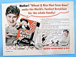 Vintage Ad: 1952 Quaker Puffed Wheat