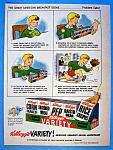 Vintage Ad: 1947 Kellogg's Variety