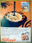 1959 Kellogg's Frosted Flakes With Tony The Tiger