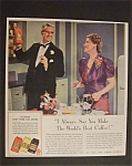 Vintage Ad: 1941 Eight O Clock Coffee