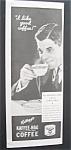 Vintage Ad: 1933 Kellogg's Kaffee - Hag Coffee