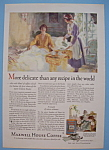 1927 Maxwell House Coffee With Maid Serving Woman