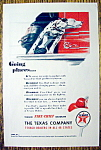 1947 Texaco Fire Chief Gasoline W/ A Dalmatian On Truck