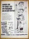 1960 Fizzies With A Family Standing & Drinking