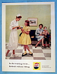 1961 Pepsi Cola (Pepsi) With Nurse & Little Girl