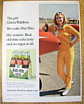 Vintage Ad: 1966 Diet Rite Cola With Gloria Waldron