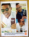 1966 Coca Cola (Coke) W/man Enjoying A Coke