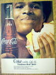 1976 Coca Cola (Coke) With Man Eating Sandwich