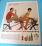 Vintage Ad: 1962 Canada Dry Orange