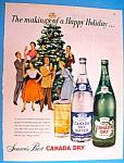 Vintage Ad: 1952 Canada Dry