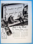 1937 Hires Root Beer With Two Men Taking Lunch