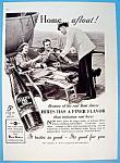 1937 Hires Root Beer W/waiter Serving Man & Woman
