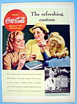 1938 Coca Cola (Coke) With Three Women Talking