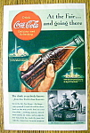 1939 Coca Cola (Coke) With The World's Fairs