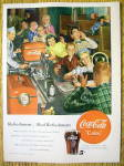 1950 Coca Cola (Coke) With A Group Of People