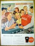 1947 Coca Cola (Coke) W/ Group Of Children