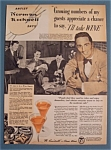 1940 Wine With Norman Rockwell