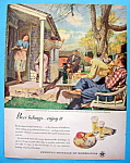 Vintage Ad: 1948 Beer Belongs By Austin Briggs