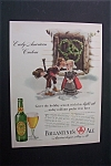 1940 Dual Ad: Ballantine's Ale & Nucoa Margarine