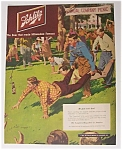 1951 Schlitz Beer With Men In A Race