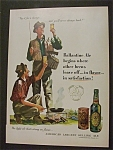 1951 Dual Ad: Ballantine's Ale & Watchmakers