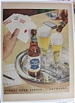 1951 Pabst Blue Ribbon Beer