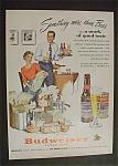 1951 Budweiser Beer