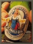 Vintage Ad: 1988 St. Pauli Girl Beer