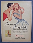 1956 Budweiser Beer