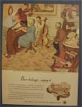 Vintage Ad: 1946 Beer Belongs By Mead Schaeffer
