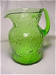 Crinkle Ockner Pitcher - Green