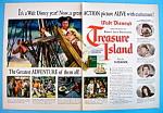 Vintage Ad: 1950 Treasure Island W/bobby Driscoll
