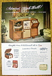 1948 Admiral Triple Thrill W/radio, Tv & Phonograph