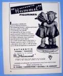 1958 M. J. Hummel Figurines With 2 Girls Figurine