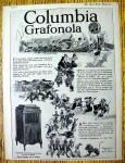 1918 Columbia Grafonola With Grafonola