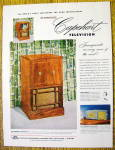 1951 Capehart Television With Capehart Charlestown