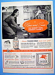 Vintage Ad: 1944 Tavern Non Rub Floor Wax