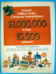 1967 Mattel Toys With Mrs. Beasley, Baby Hungry & More