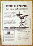 Vintage Ad: 1956 Dell Pens With The Lone Ranger